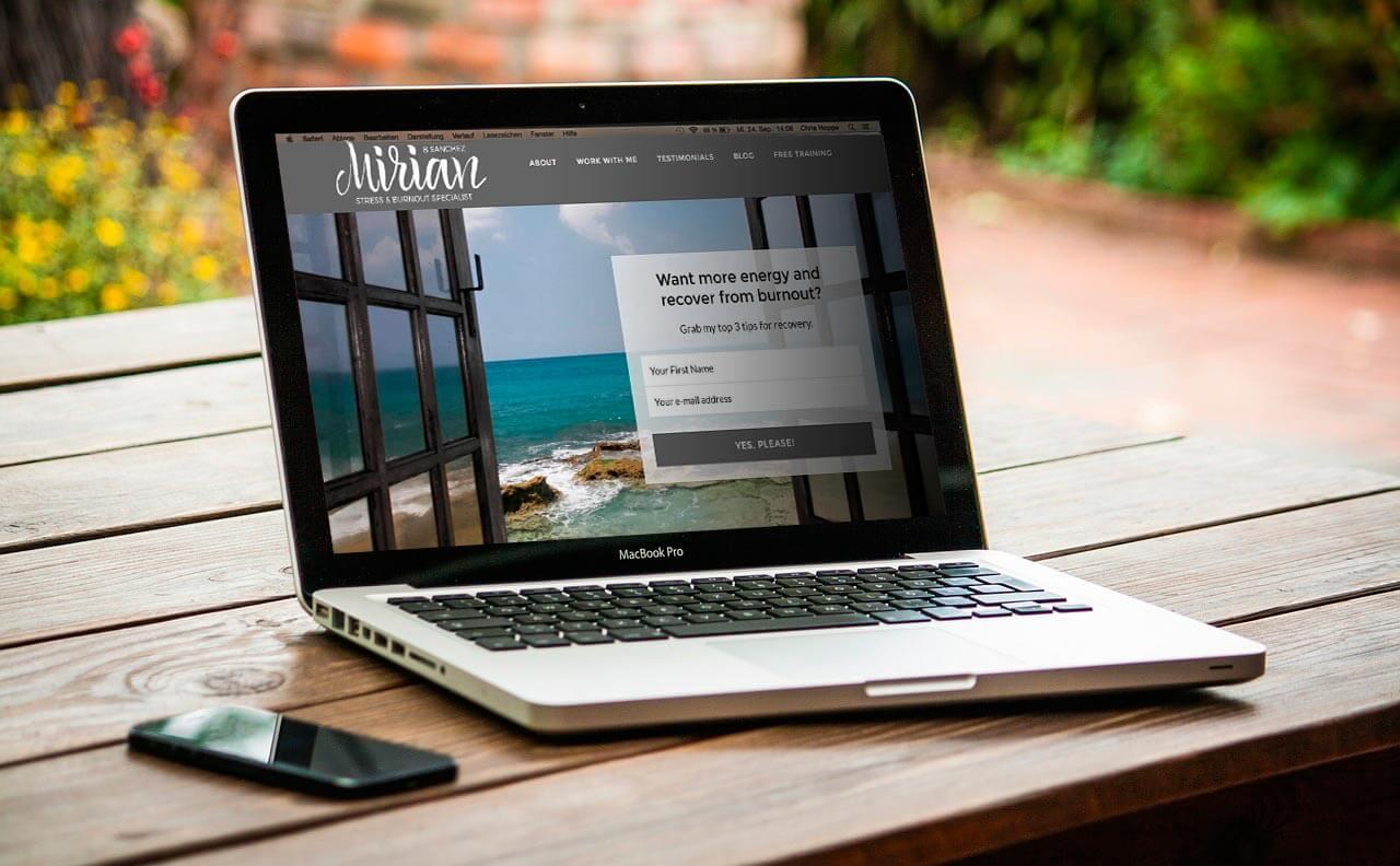 diseño web mirian